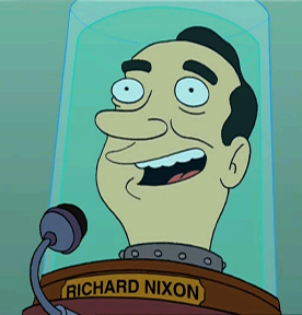 Futurama - President Nixon
