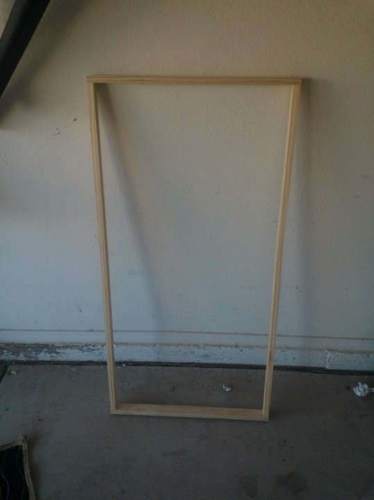 Beer pong table frame