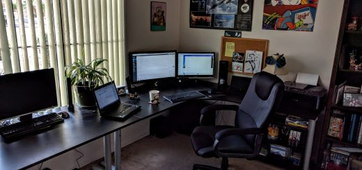Updated Home Office