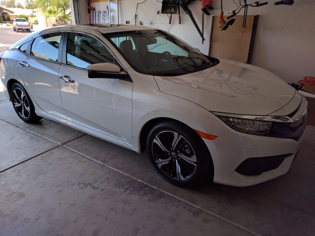 New 2016 Honda Civic Touring Edition